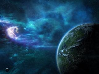 обои Холодные планеты фото