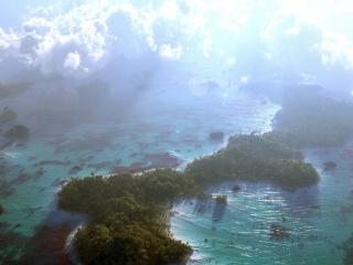 обои Панорама под небом фото