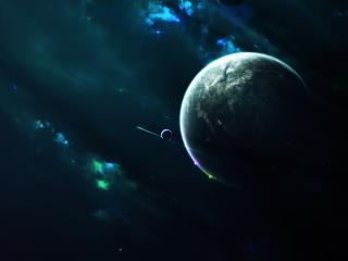 обои Планeта в красивом космосе фото