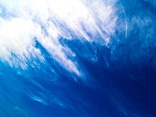обои Бело-синее небо фото