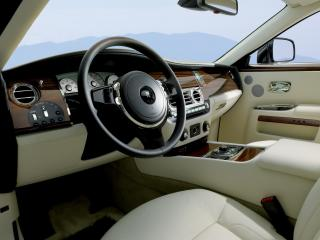 обои Rolls-Royce Ghost 2009 внутри фото