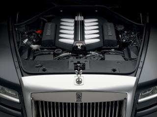 обои Rolls-Royce Ghost 2009 мотор фото