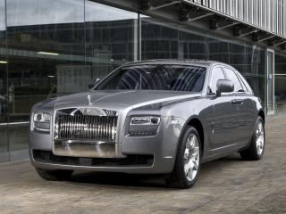обои Rolls-Royce Ghost 2009 мощь фото