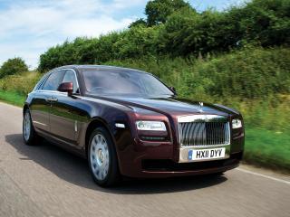 обои Rolls-Royce Ghost Extended Wheelbase 2011 дорога фото