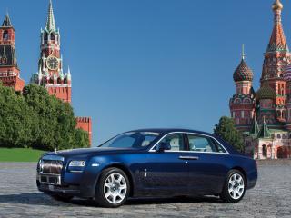 обои Rolls-Royce Ghost Extended Wheelbase 2011 москва фото
