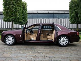 обои Rolls-Royce Ghost Extended Wheelbase 2011 открыт фото