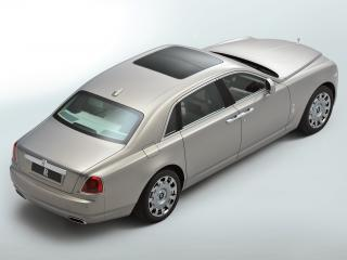 обои Rolls-Royce Ghost Extended Wheelbase 2011 сверху фото