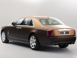 обои Rolls-Royce Ghost Two-tone 2012 зад фото