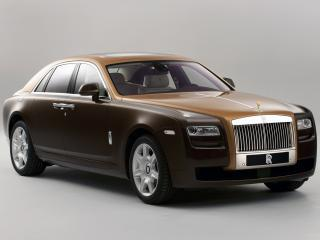 обои Rolls-Royce Ghost Two-tone 2012 перед фото