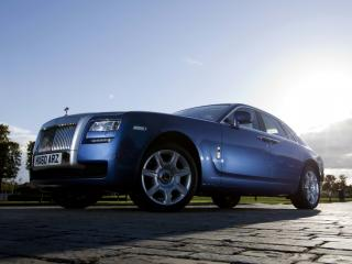 обои Rolls-Royce Ghost UK-spec 2009 низ фото