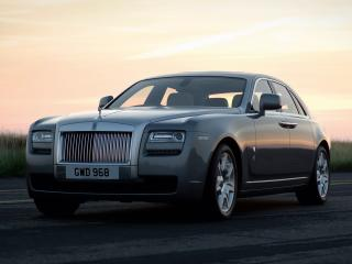 обои Rolls-Royce Ghost UK-spec 2009 перед фото
