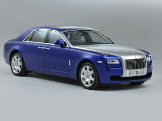 обои Rolls-Royce Ghost UK-spec 2009 сила фото