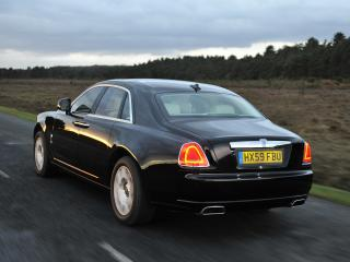 обои Rolls-Royce Ghost UK-spec 2009 стопы фото