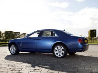 обои Rolls-Royce Ghost UK-spec 2009 тень фото