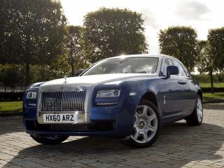обои Rolls-Royce Ghost UK-spec 2009 фары фото