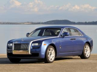 обои Rolls-Royce Ghost US-spec 2009 боком фото