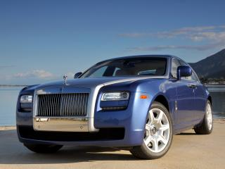 обои Rolls-Royce Ghost US-spec 2009 колесо фото