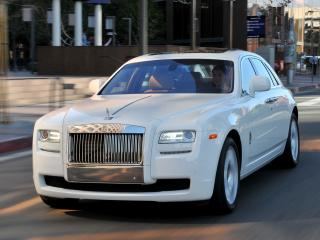обои Rolls-Royce Ghost US-spec 2009 перед фото