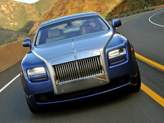 обои Rolls-Royce Ghost US-spec 2009 спуск фото