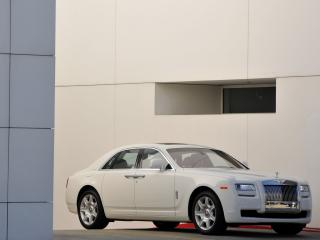 обои Rolls-Royce Ghost US-spec 2009 стена фото