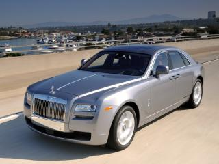 обои Rolls-Royce Ghost US-spec 2009 яхты фото
