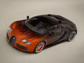 обои Bugatti Veyron Grand Sport Roadster Venet 2012 сила фото