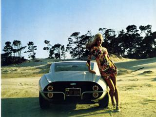обои Amante GT 1969 сзади фото