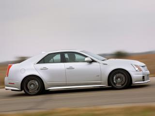 обои Hennessey Cadillac CTS-V 2009 бок фото