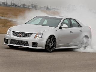 обои Hennessey Cadillac CTS-V 2009 дым фото