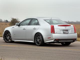 обои Hennessey Cadillac CTS-V 2009 зад фото