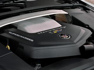 обои Hennessey Cadillac CTS-V 2009 мотор фото