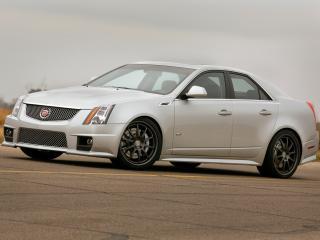 обои Hennessey Cadillac CTS-V 2009 перед фото