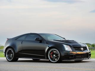 обои Hennessey Cadillac VR1200 Twin Turbo Coupe 2012 быстрая фото