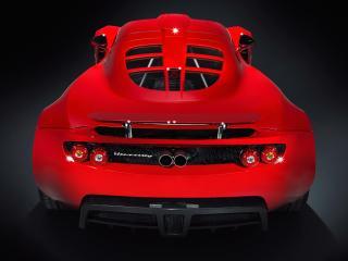 обои Hennessey Venom GT 2010 красный фото