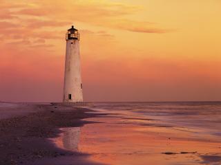 обои Cape St. George Lighthouse фото