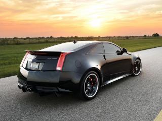 обои Hennessey Cadillac VR1200 Twin Turbo Coupe 2012 мощь фото