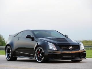 обои Hennessey Cadillac VR1200 Twin Turbo Coupe 2012 мощьная фото