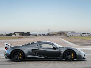 обои Hennessey Venom GT World Speed Record Car 2013 бок фото