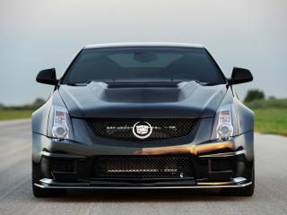 обои Hennessey Cadillac VR1200 Twin Turbo Coupe 2012 перед фото