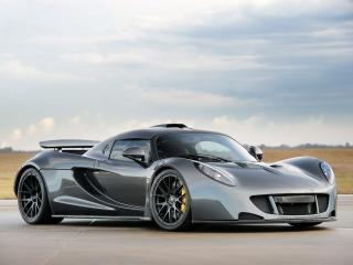 обои Hennessey Venom GT World Speed Record Car 2013 боком фото