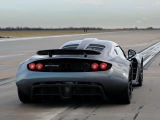 обои Hennessey Venom GT World Speed Record Car 2013 зад фото
