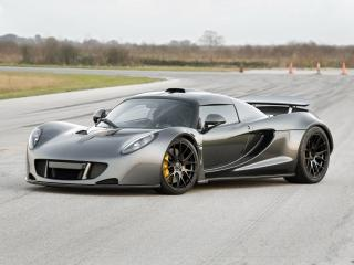 обои Hennessey Venom GT World Speed Record Car 2013 перед фото