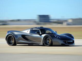 обои Hennessey Venom GT World Speed Record Car 2013 скорость фото