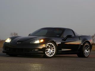 обои Hennessey Corvette Grand Sport (C6) 2011 перед фото