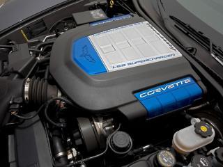 обои Hennessey Corvette ZR700 (C6) 2009 мотор фото