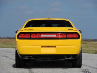 обои Hennessey Dodge Challenger SRT8 392 Yellow Jacket 2013 задок фото