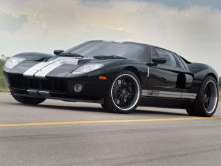 обои Hennessey GT1000 Twin-Turbo 2007 боком фото