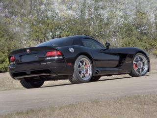 обои Hennessey Venom 1000 Twin Turbo SRT Coupe 2006 зад фото