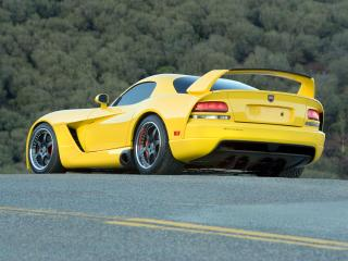 обои Hennessey Venom 1000 Twin Turbo SRT Coupe 2007 зад фото