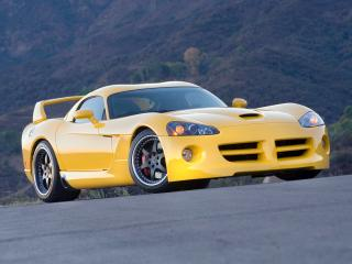 обои Hennessey Venom 1000 Twin Turbo SRT Coupe 2007 спереди фото